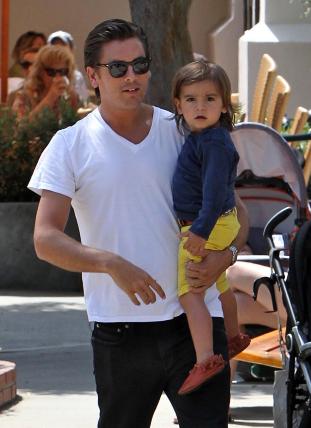 Mason Disick Had A Blast At The Park With Auntie Kim Kardashian