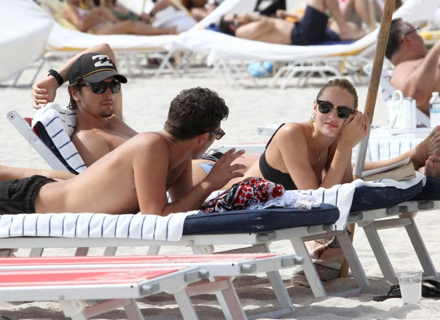 Candice Swanepoel and Her Boyfriend Hit the Beach