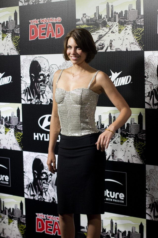 The Walking Dead 100th Issue Black-Carpet Event