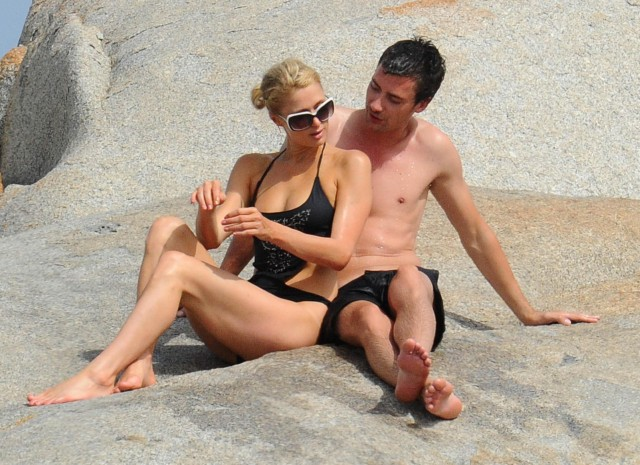Paris Hilton Cuddles Up To New Boyfriend Frederick