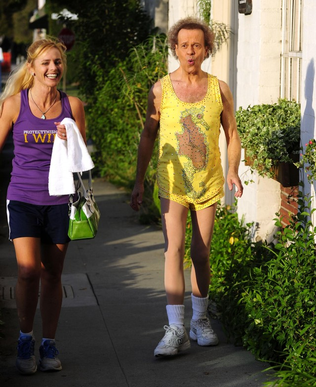 Richard Simmons Is Still Sweatin' To The Oldies