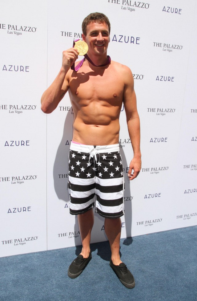 Ryan Lochte Hosts The Azure Pool Party