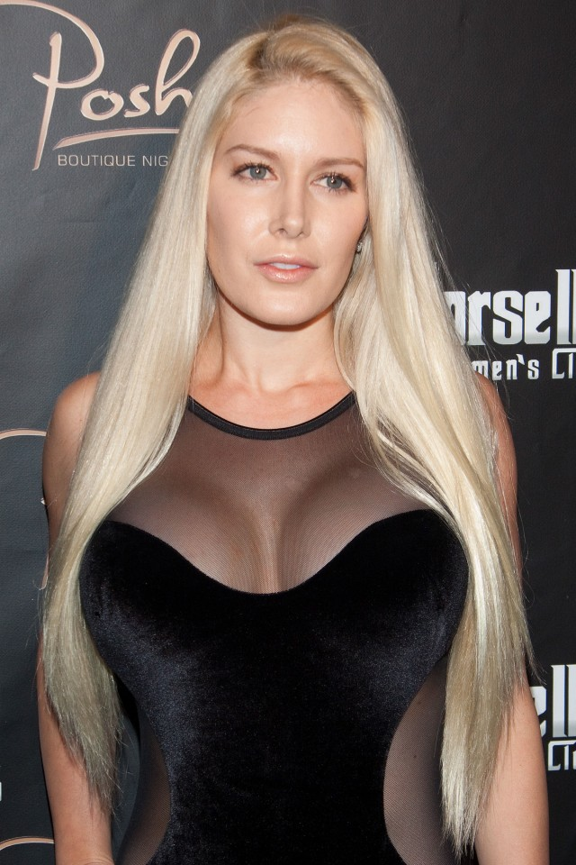 Heidi Montag Hosts at Crazy Horse III in Vegas