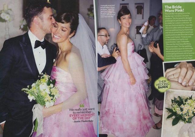Justin Timberlake And Jessica Biel Wedding Photos