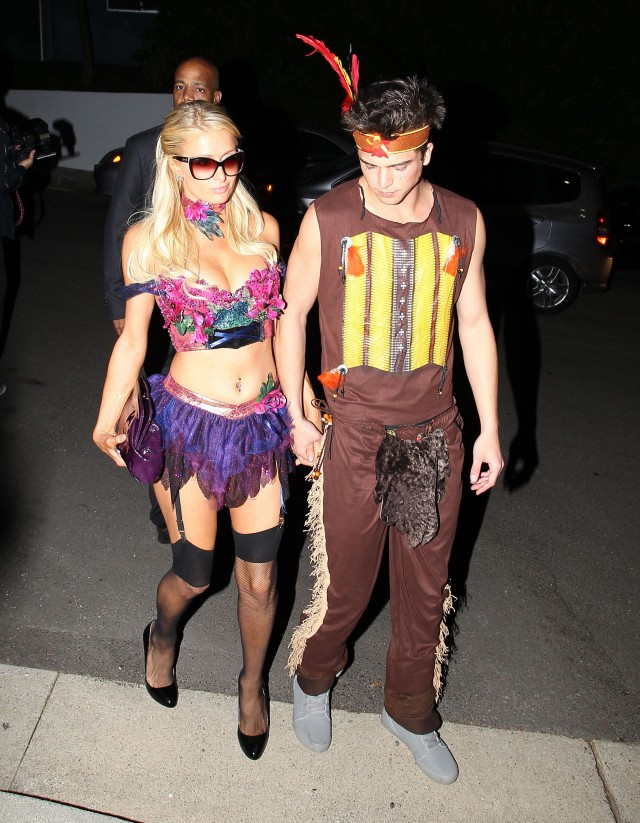 Stars Attending The Playboy Mansion Halloween Party