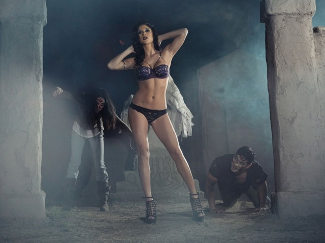 Arianny Celeste Halloween Themed Shoot
