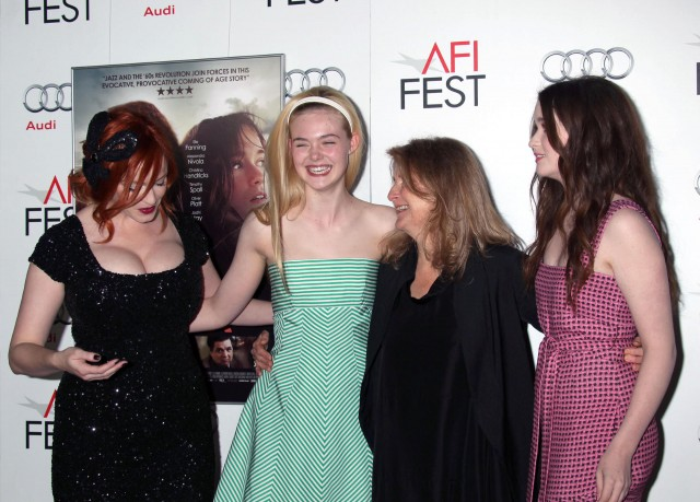 "2012 AFI FEST ""Ginger and Rosa"" & ""Zaytoun"" Special Screenings in Hollywood"