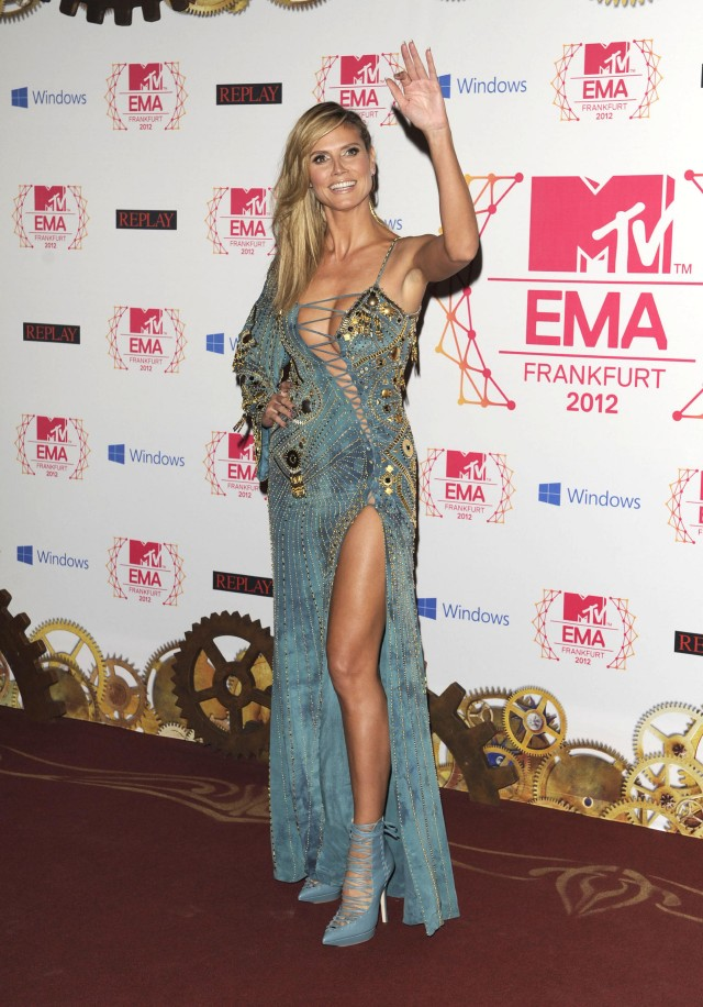 The 2012 MTV Europe Music Awards - Arrivals