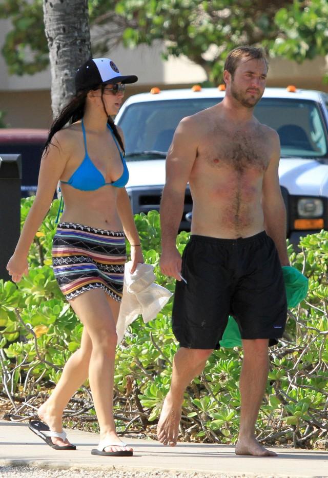 Jennifer Lawrence Takes A Bikini Break
