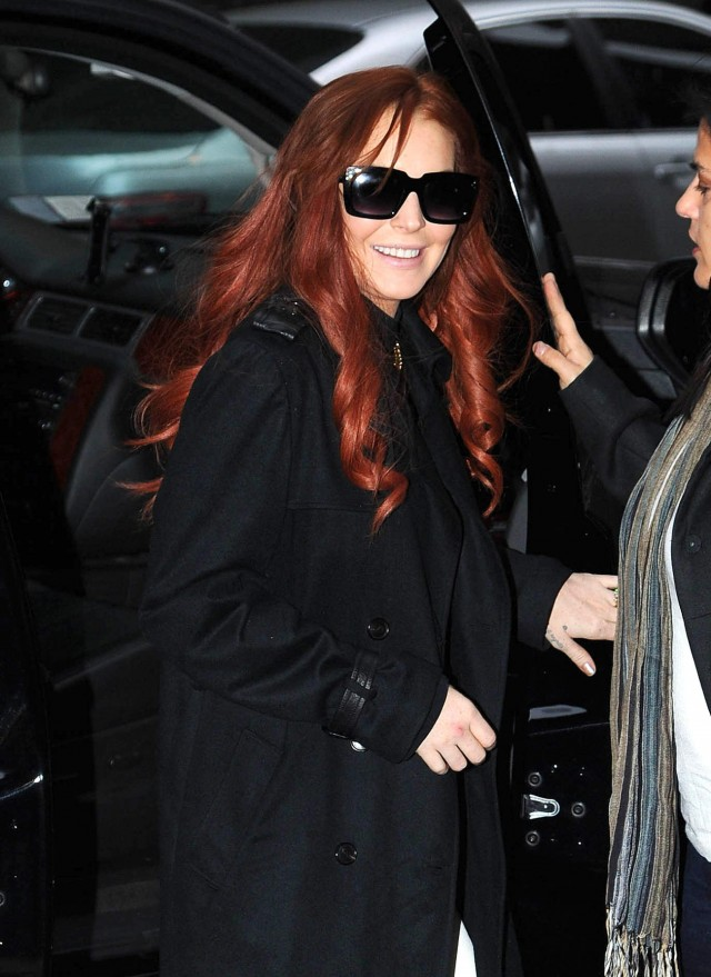 Lindsay Lohan Goes on Good Morning America