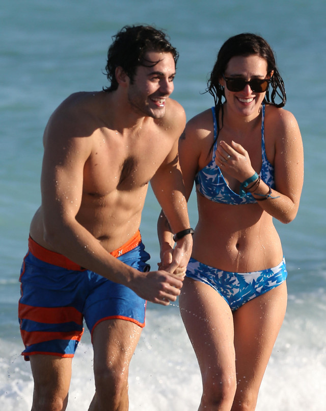 Rumer Willis & Jayson Blair Soak Up Some Miami Sun