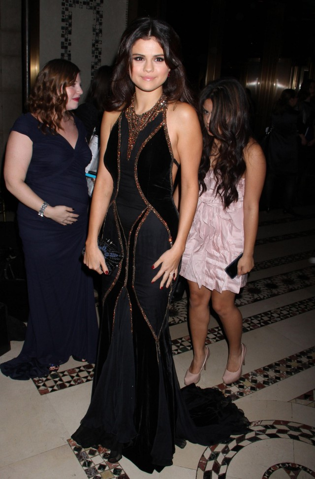 Selena Gomez at the UNICEF Snowflake Ball 2012