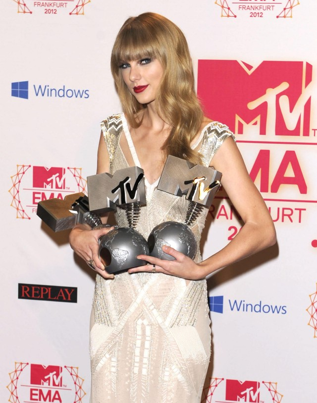 The 2012 MTV Europe Music Awards - Press Room