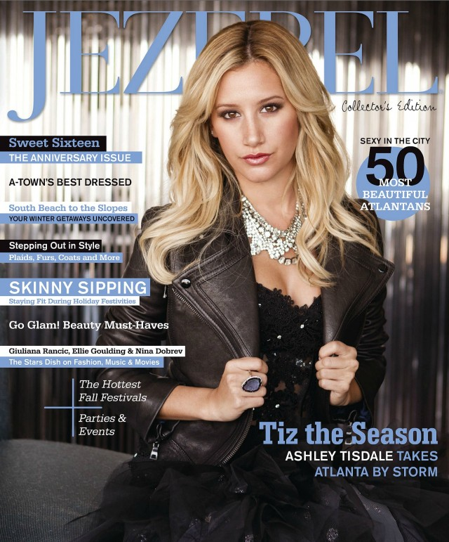 Ashley Tisdale Covers Jezebel Magazine