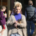 Britney Spears Takes Her Boys To Starbucks