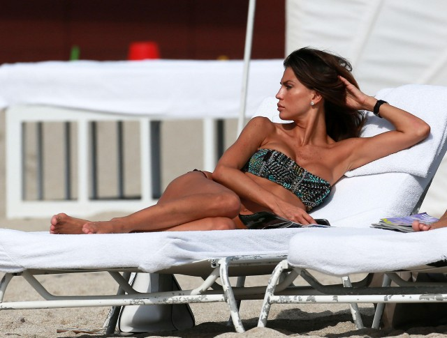 Claudia Galanti Shows Off Her Bikini Body In Miami | 131921 | Photos ...