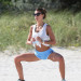 Claudia Galanti Stays Fit On The Beach In Miami