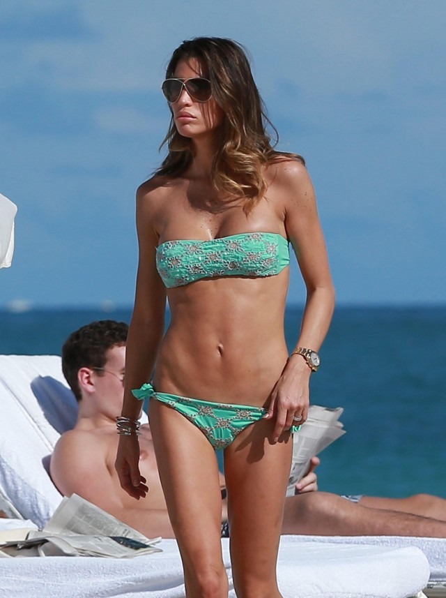 Claudia Galanti Shows Off Her Bikini Body In Miami