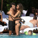 Claudia Galanti And Boyfriend Enjoy The Pool And The Beach