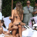 Claudia Galanti And Boyfriend Enjoy The Pool And The Beach