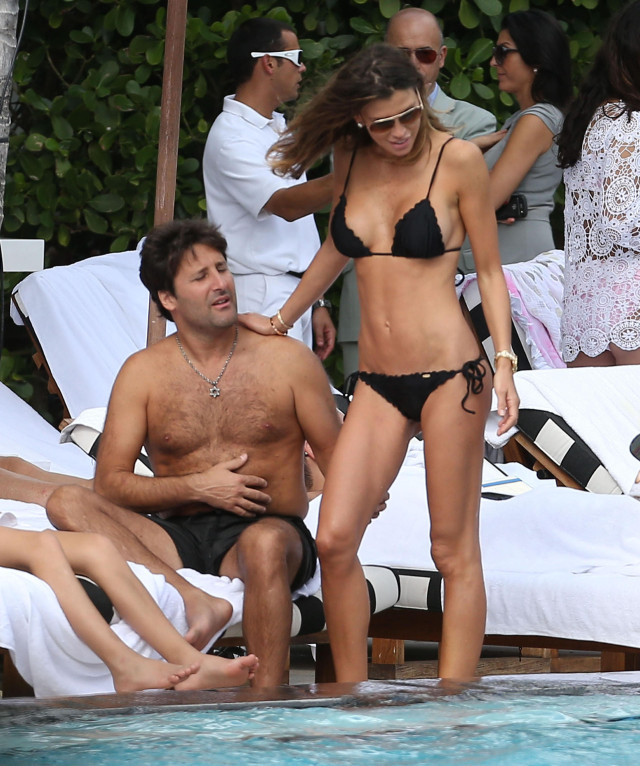 Claudia Galanti And Boyfriend Enjoy The Pool And The Beach 133733 Photos The Blemish