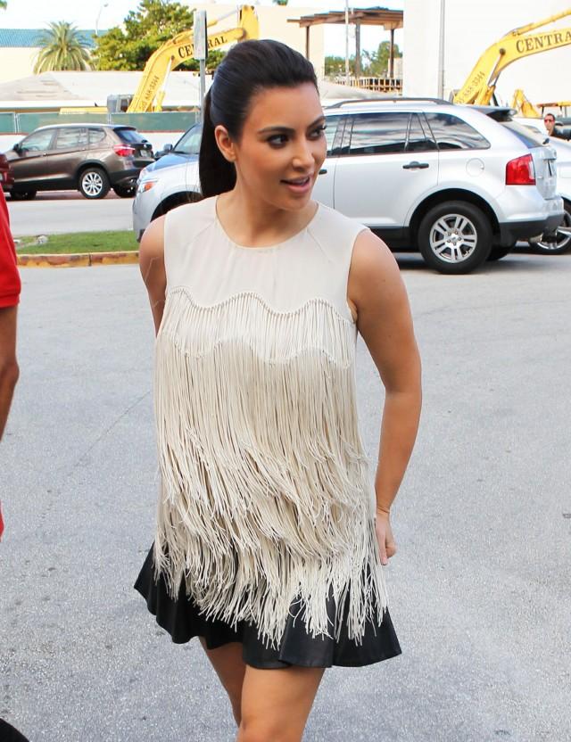 Kim Kardashian Grabs Lunch With Her Pal Jonathan In Miami