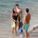 Stephanie Seymour Enjoys A Post Christmas Day On The Beach