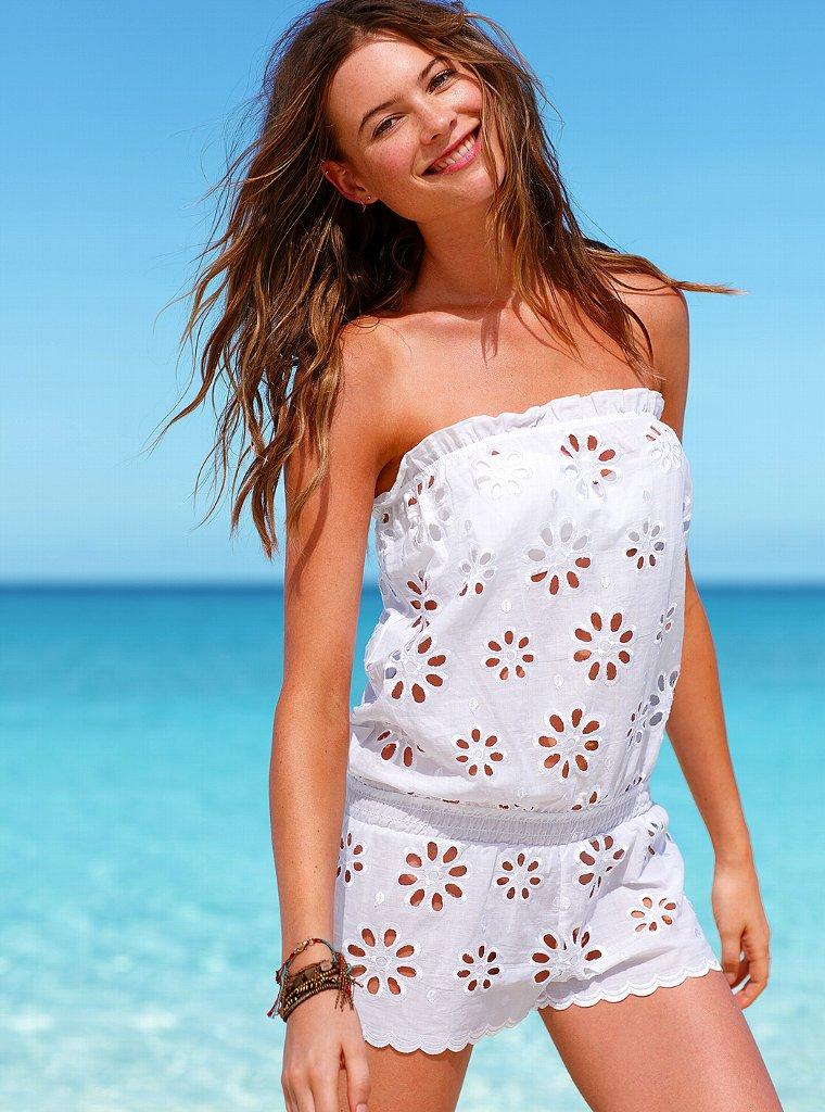 Behati Prinsloo Models Victoria's Secret Swimwear