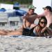 Christina Milian Enjoying A Day On The Beach In Miami