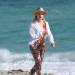 "Emma Rigby Films ""Plastic"" On The Beach"