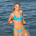 Emma Rigby Gets Wet On The Set Of 'Plastic'