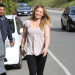 Hilary Duff Is In A Good Mood