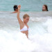 Ryan Seacrest & Julianne Hough Cool Off In St Barts