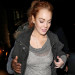 Lindsay Lohan Returns To Her Hotel