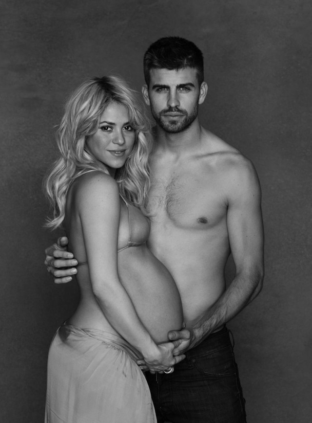shakira pregnant 640x865 Jessica Simpson is pregnant    and she finally announced the news on ...