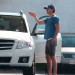 Shia LaBeouf Giving A Lady Directions