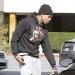 Chris Brown Makes Fashion Statement in Beverly Hills