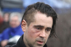 Colin Farrell Films 'Winter's Tale' In NYC