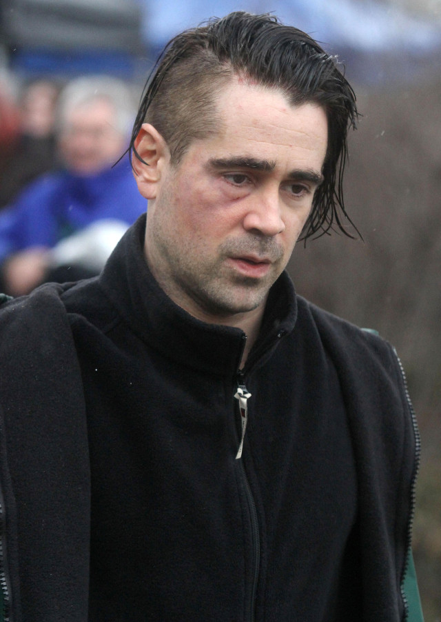 Colin Farrell Films Winter S Tale In Nyc 138091 Photos The Blemish