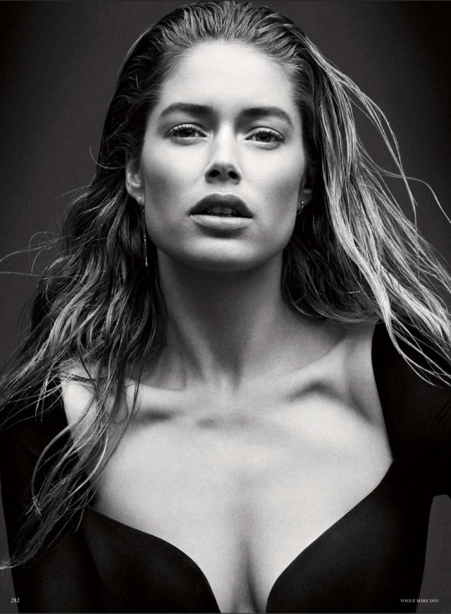 Doutzen Kroes Vogue Germany, March 2013