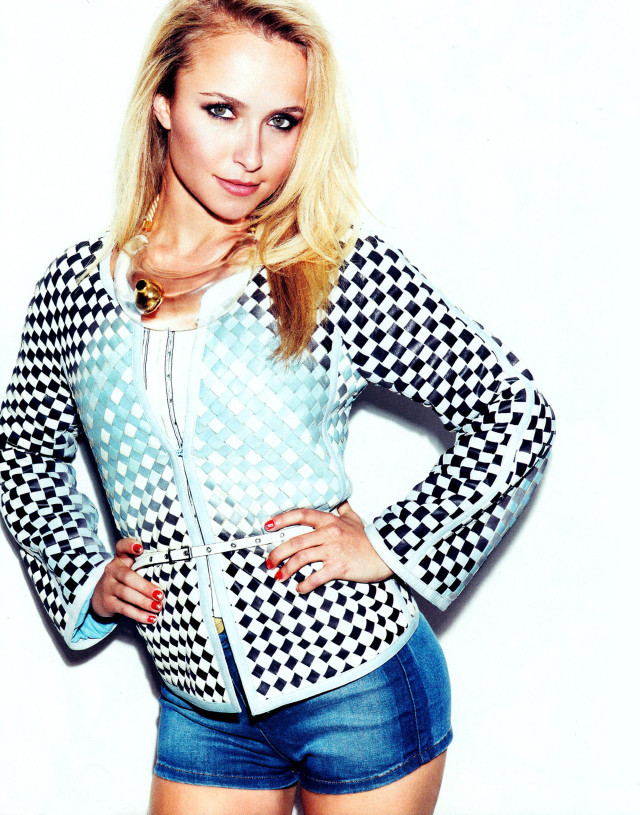 Hayden Panettiere in Nylon, March 2013