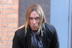 Iggy Pop Films A Car Commercial In NYC