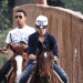 Justin Bieber Goes for a Horse Ride