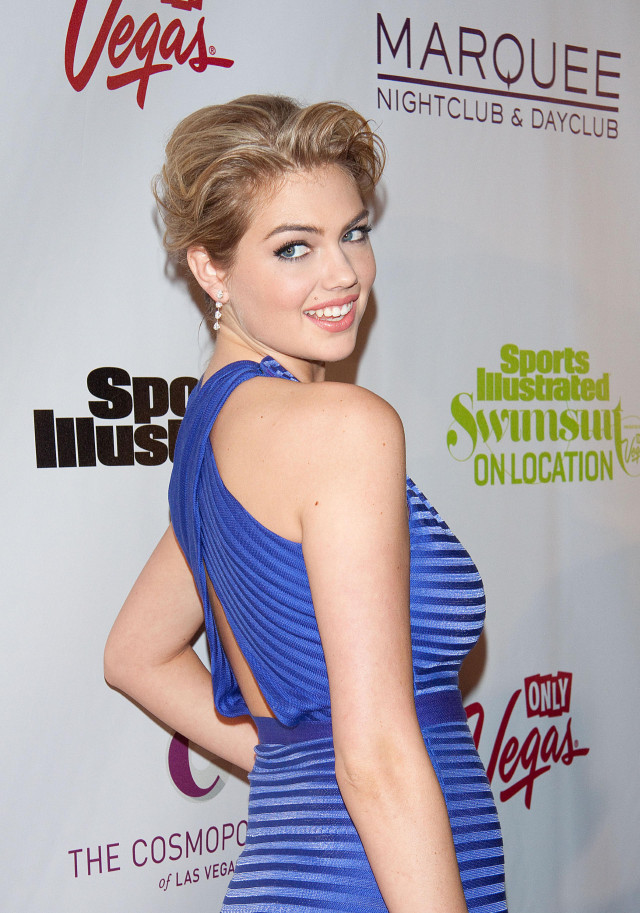 Kate Upton Attends SI Swimsuit On Location