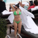 Kelly Brook Shows Off Her Bikini Body In Miami