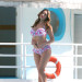 Kelly Brook Shows Off Her Bikini Body