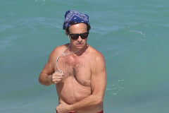 Pauly Shore Catches Some Rays In Miami