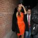 Rihanna Spends Valentine's Night At The Blok