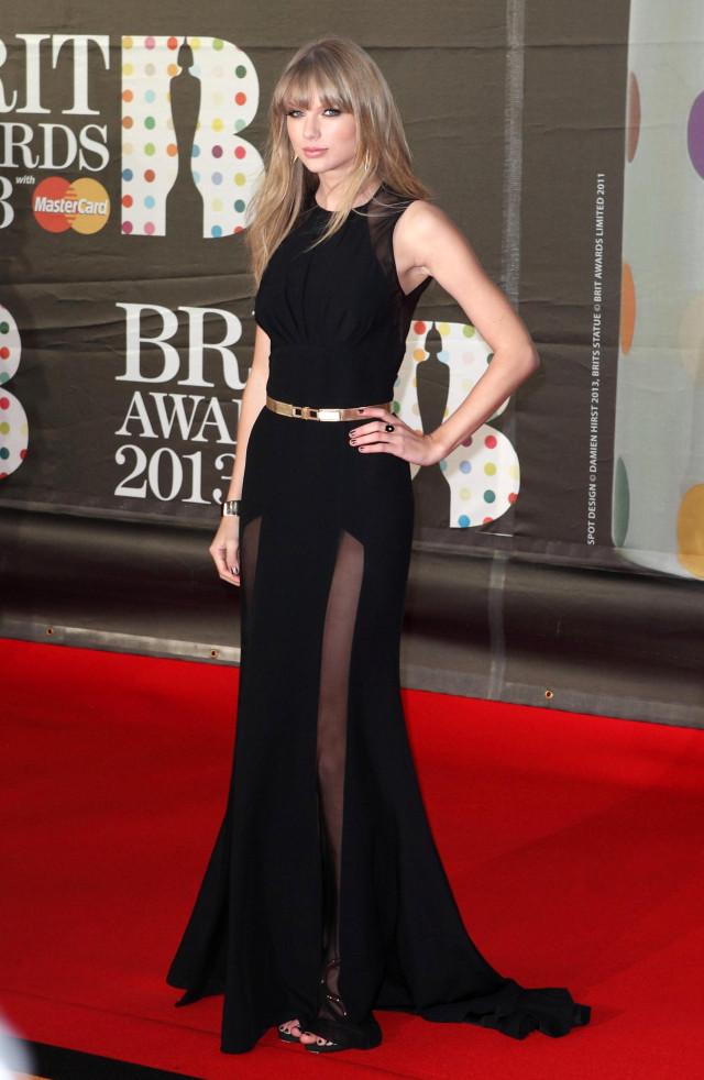 PHOTOS: Taylor Swift at 2013 Brit Awards