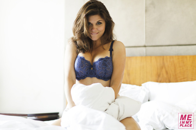 Tiffani Thiessen Poses for Me in My Place | Photos | The Blemish